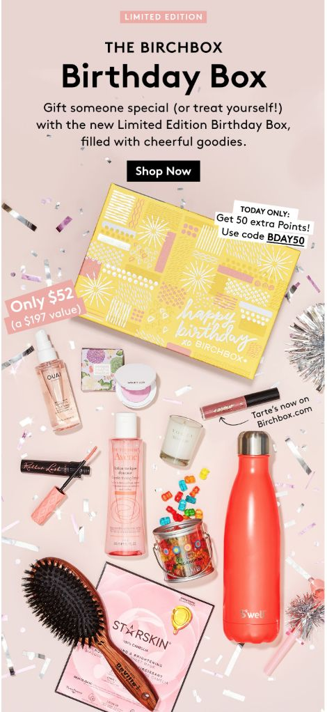 42be58f4dc08 Birchbox Limited Edition Birthday Box – Available Now + Coupon!