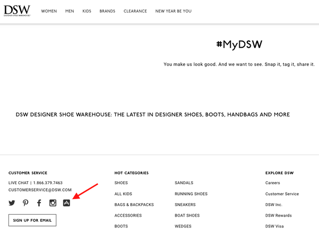 d02b62f73e63 6 Secret Ways to Find a DSW Promo Code (That Actually Works ...