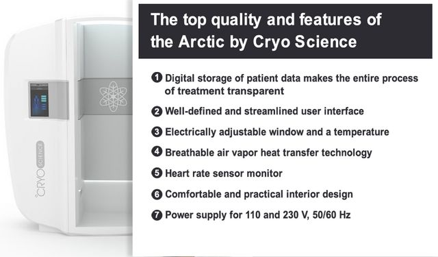 JUKA Cryosauna Vs Cryo Arctic: Which one is right for your