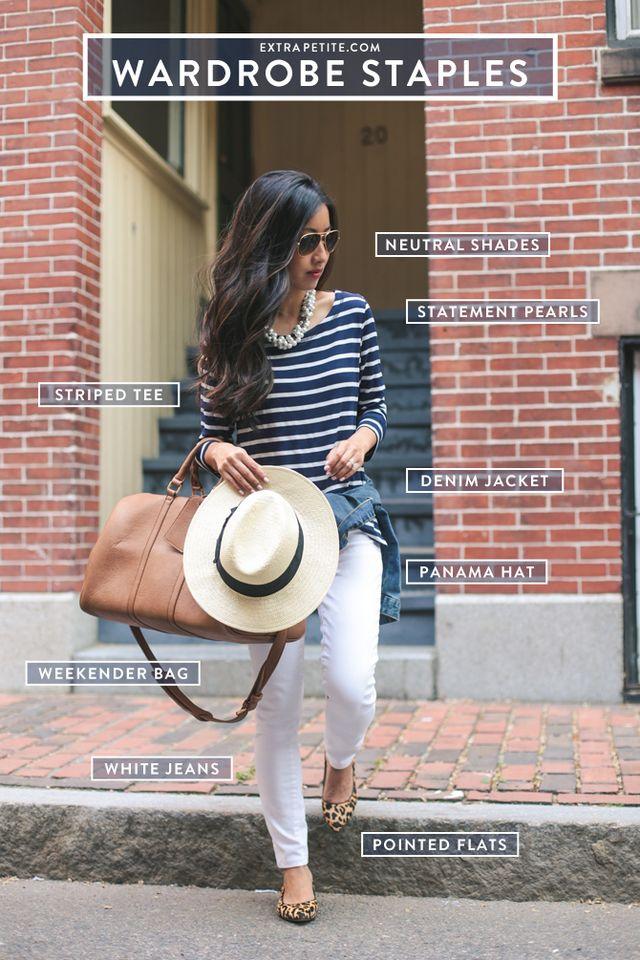 857de4765535 Petite-friendly summer outfit staples + leopard flats reviews ...