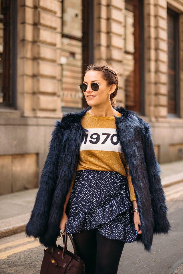 FOREVER21 faux fur jacket  221c7d4a3
