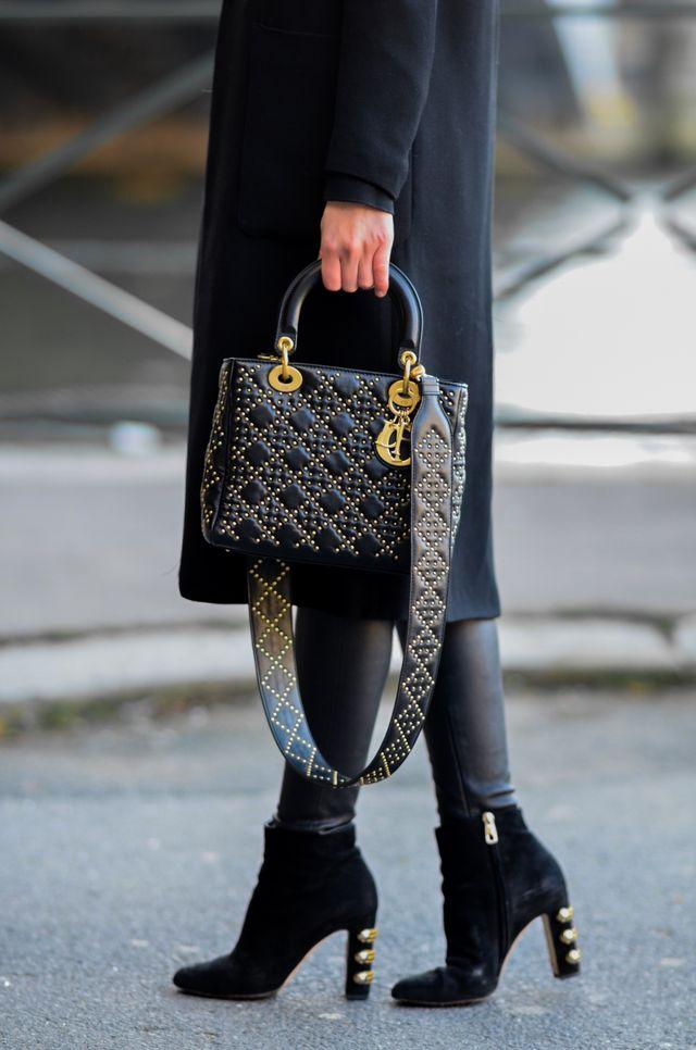 5ae64af4b048 Zara coat (similar) Proenza Schouler turtle neck (similar) Balenciaga  leggings (similar) Dolce   Gabbana boots (here) Dior bag (similar) H M hat  (similar)