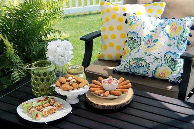 Create a Fall Tablescape with Farm Rich & BBQ Chicken Caesar