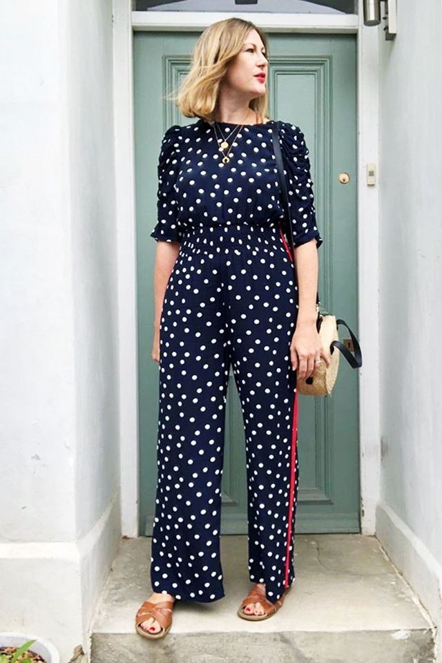 6152efecdd Marks   Spencer s Sellout Polka-Dot Jumpsuit Is FINALLY Back in Stock
