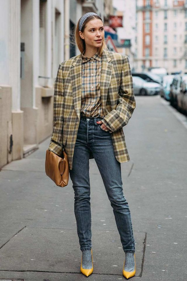 ddbeecf52 10 Chic-as-Hell Ways to Wear Plaid This Fall