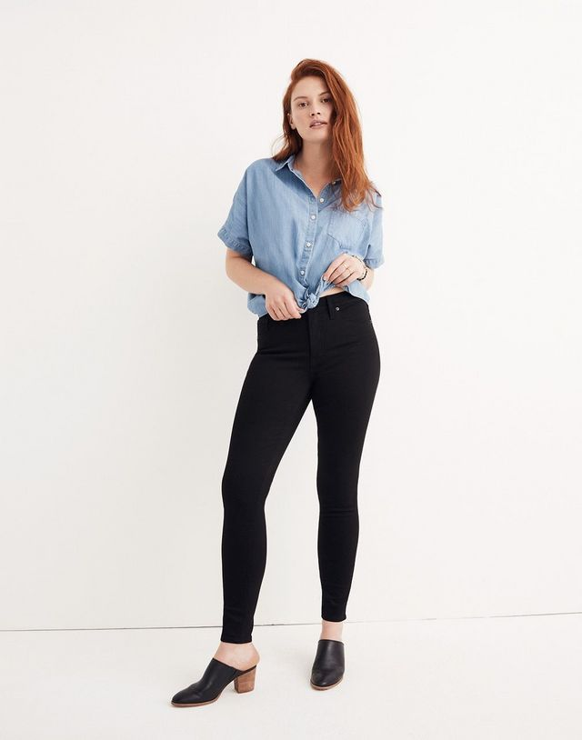 4947ac9d39 SJP Wore Madewell Skinny Jeans With Quite the Polarizing Shoe Choice ...