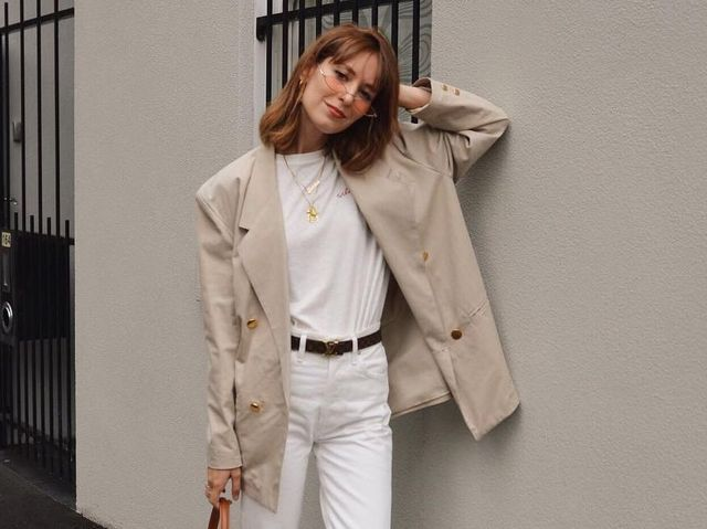 037ebcda3b2 15 All-White Outfits That Look So Fresh for Fall | WhoWhatWear.com ...
