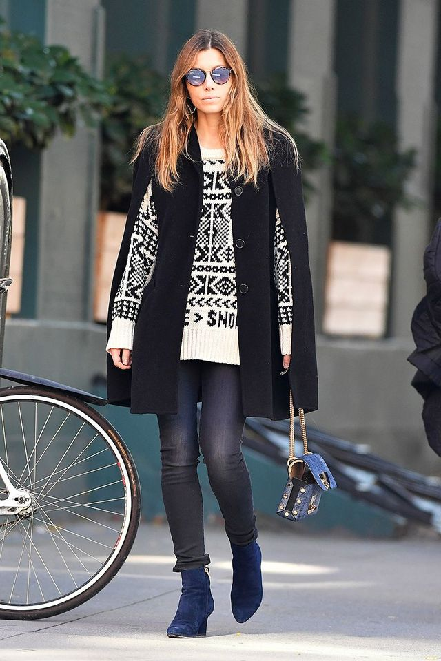 d93687a629c Keep scrolling to see and shop Jessica Biel s latest skinny-jean look.