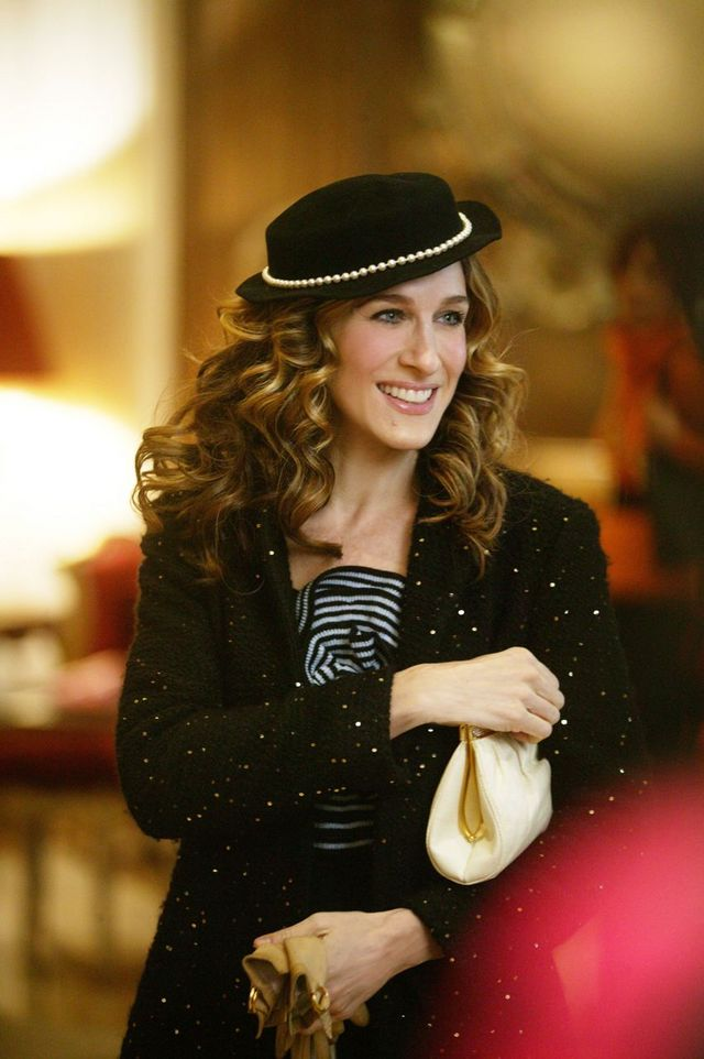 35009423acac6 Carrie Bradshaw leaned into iconic French fashion items when she arrived in  Paris