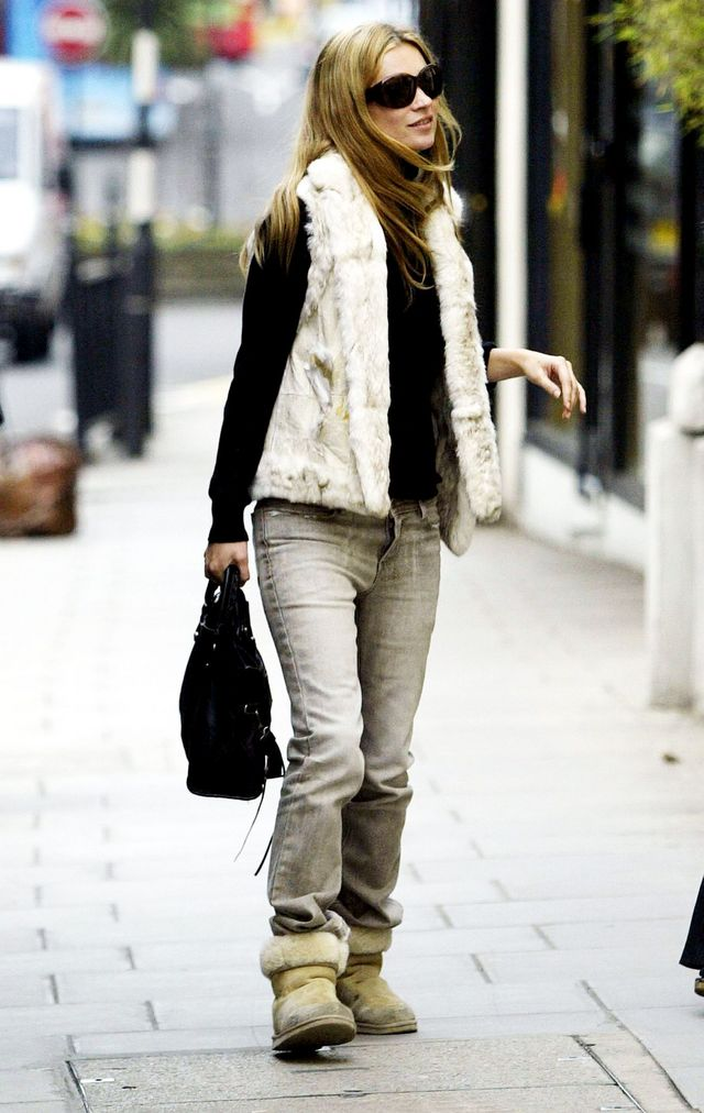7496a9a08af Yep, You'll Want to Wear Ugg Boots Like 2000s Kate Moss ...