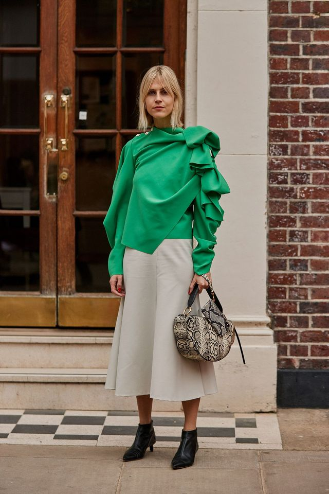 13778d40689ec The Latest Street Style From London Fashion Week