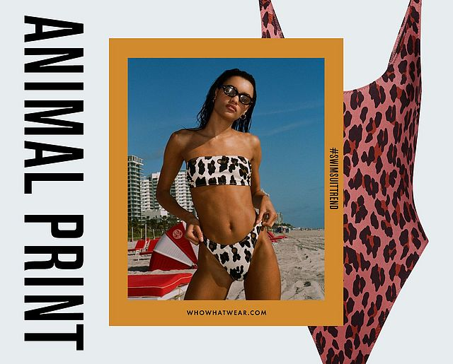 dfd66427ae1b5 It's no surprise that the swimwear sector has recently caught up with the  fashion world's overarching obsession with the animal-print revival.