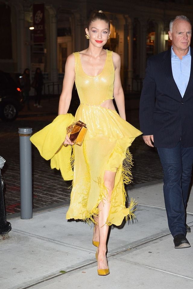 7ecd9c6c03ee Gigi Hadid Perfectly Channeled This Disney Princess Last Night ...