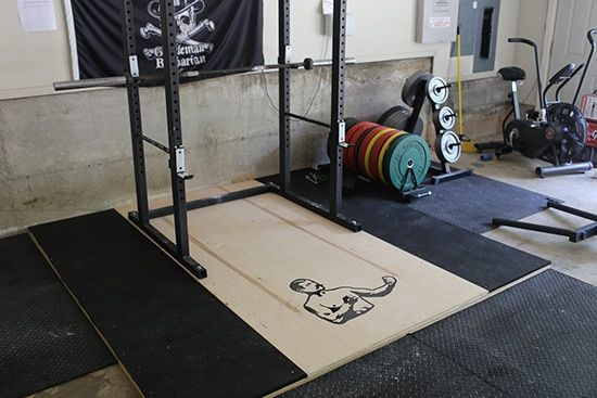 How To Build A Weightlifting Platform The Art Of