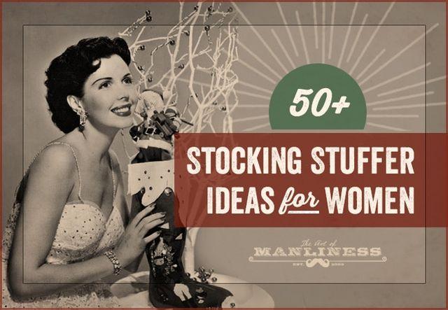 50 Stocking Stuffers For Women The Art Of Manliness Bloglovin