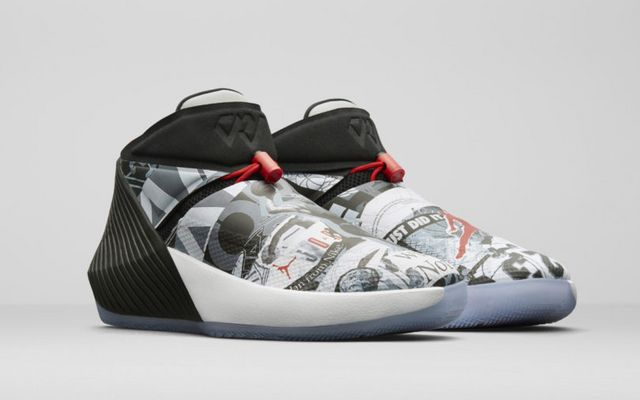 ... tune into the game: whether reigning NBA league MVP Russell Westbrook  would be playing in his newly designed signature shoes for the Nike Jordan  Brand.