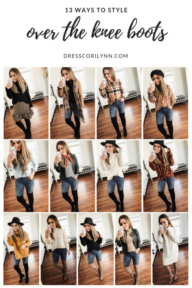 2c55a4c42613 13 ways to style over the knee boots.