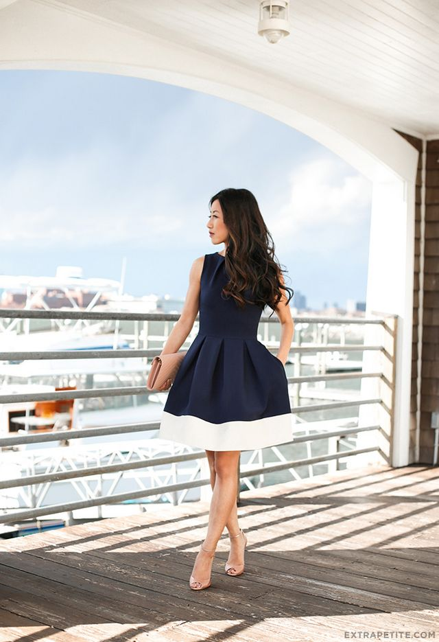 Nautical in navy    What to wear to a casual wedding  876c21640d18