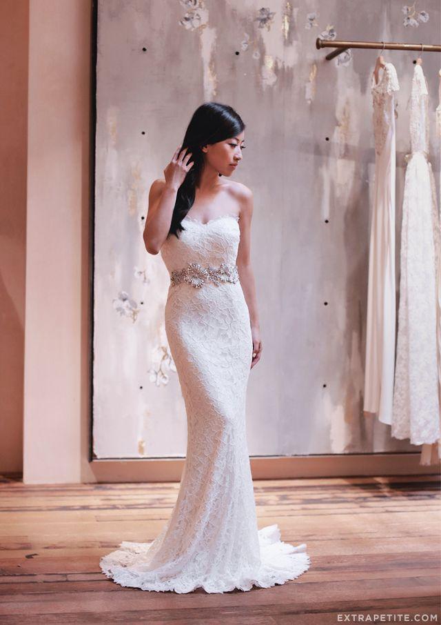 1770393f17 Petite-friendly wedding dress search  Tadashi Shoji