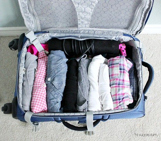how to pack for 3 days in a carry on