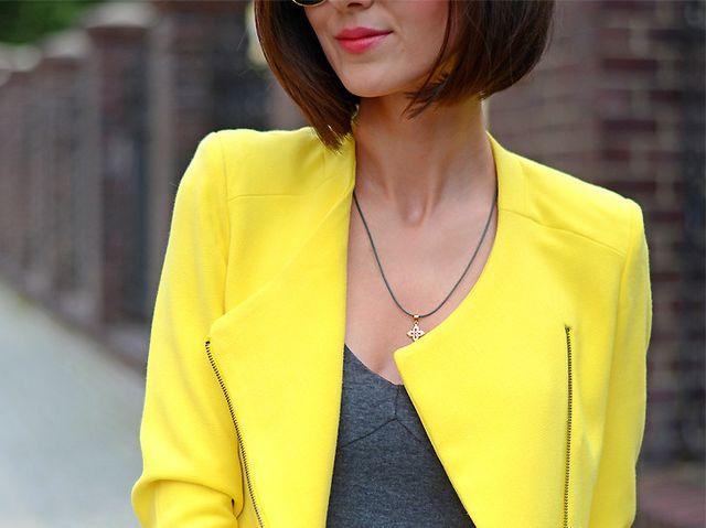 09e1da75c3d37 Yellow zippered jacket | DaisyLine | Bloglovin'