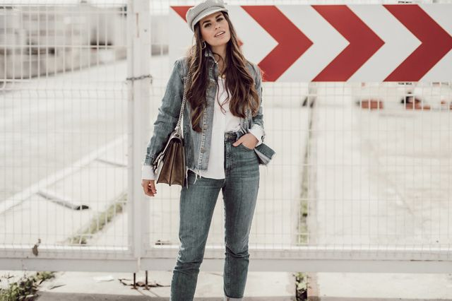 a24dfc7d30 How to wear a denim jacket during winter | Seams for a desire ...