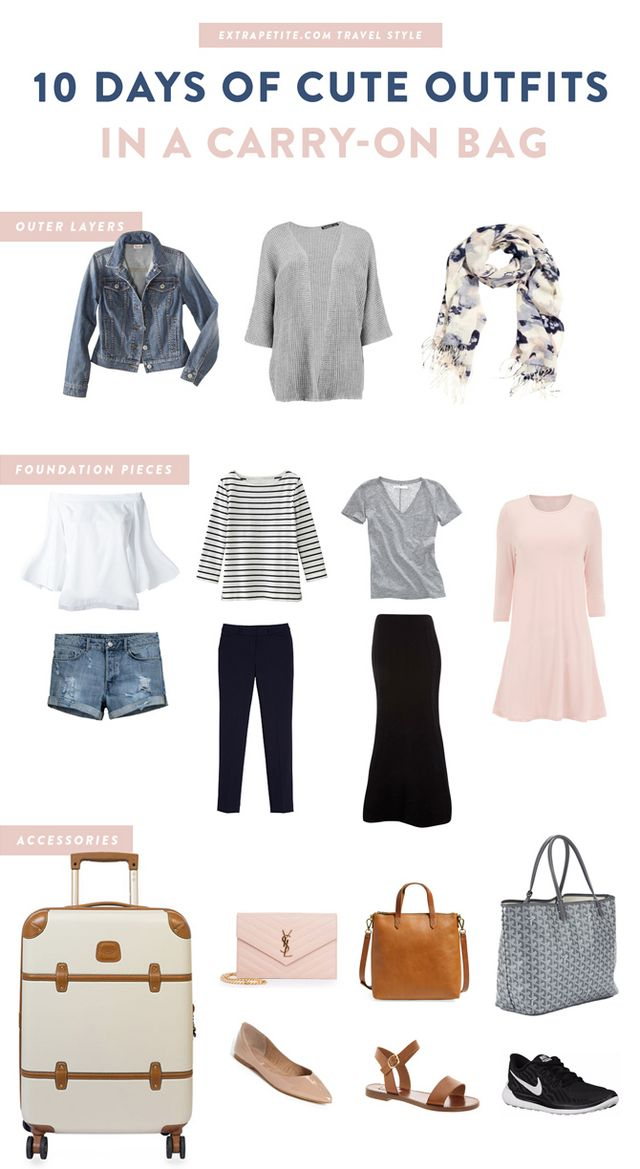 a08f5ecba54a2b Travel style  How to plan cute outfits for vacation in a carry-on ...