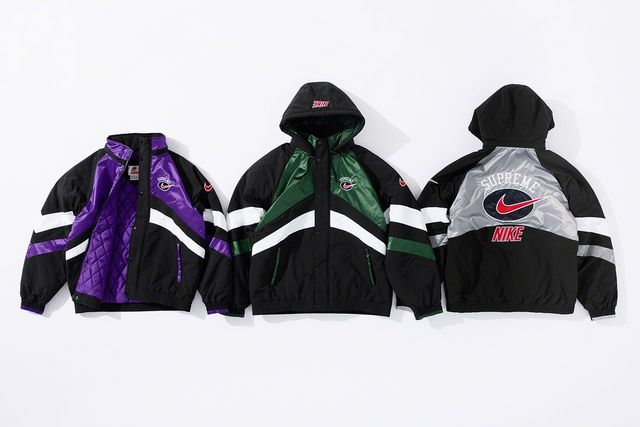 259e13a7b66e2 Supreme x Nike Fall Winter 2019 Nylon Hooded Sport Jacket
