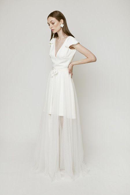 819cbd714 19 vestidos de novia cortos para dar el sí quiero con un look ...