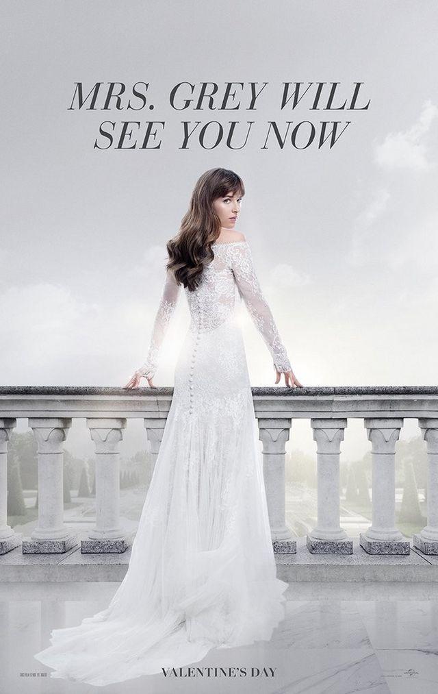 414055dc7 Así es el vestido de novia de Anastasia Steele en  Cincuenta sombras ...
