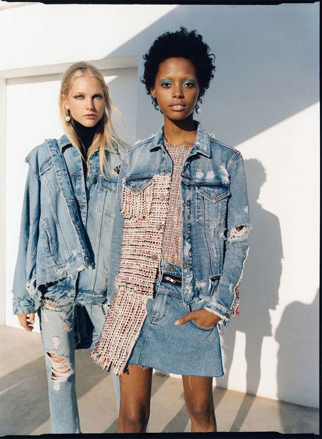 Zara te obligará a lucir con un  total look denim  ¡sus nuevas prendas  vaqueras son lo más! 9d94d4d1d197