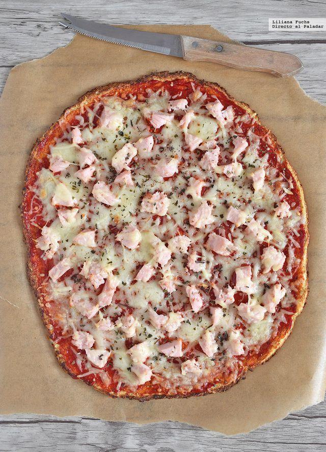 Cómo hacer pizza con base de coliflor. La receta sin harina que más ...