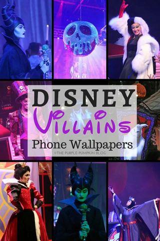Disney Villains Phone Wallpapers The Purple Pumpkin Blog