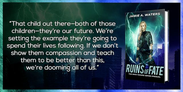 Excerpt+Giveaway} Ruins of Fate by Jamie A  Waters | Book