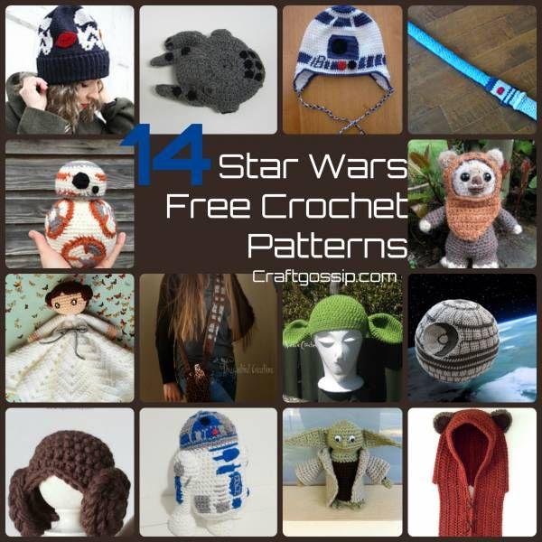 14 Star Wars Crochet Patterns Crochet Craftgossip Bloglovin