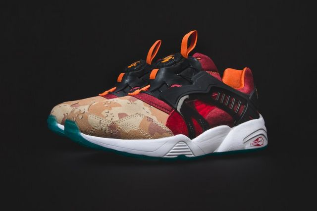 PUMA has teamed up with sneaker retailers Titolo and atmos for a new and  special collaboration. Featuring PUMA s classic Disc Blaze silhouette 97c4b37c4