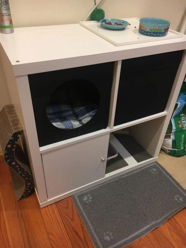 Weekend Project Make A Cozy Corner For Your Cat Ikea Hackers