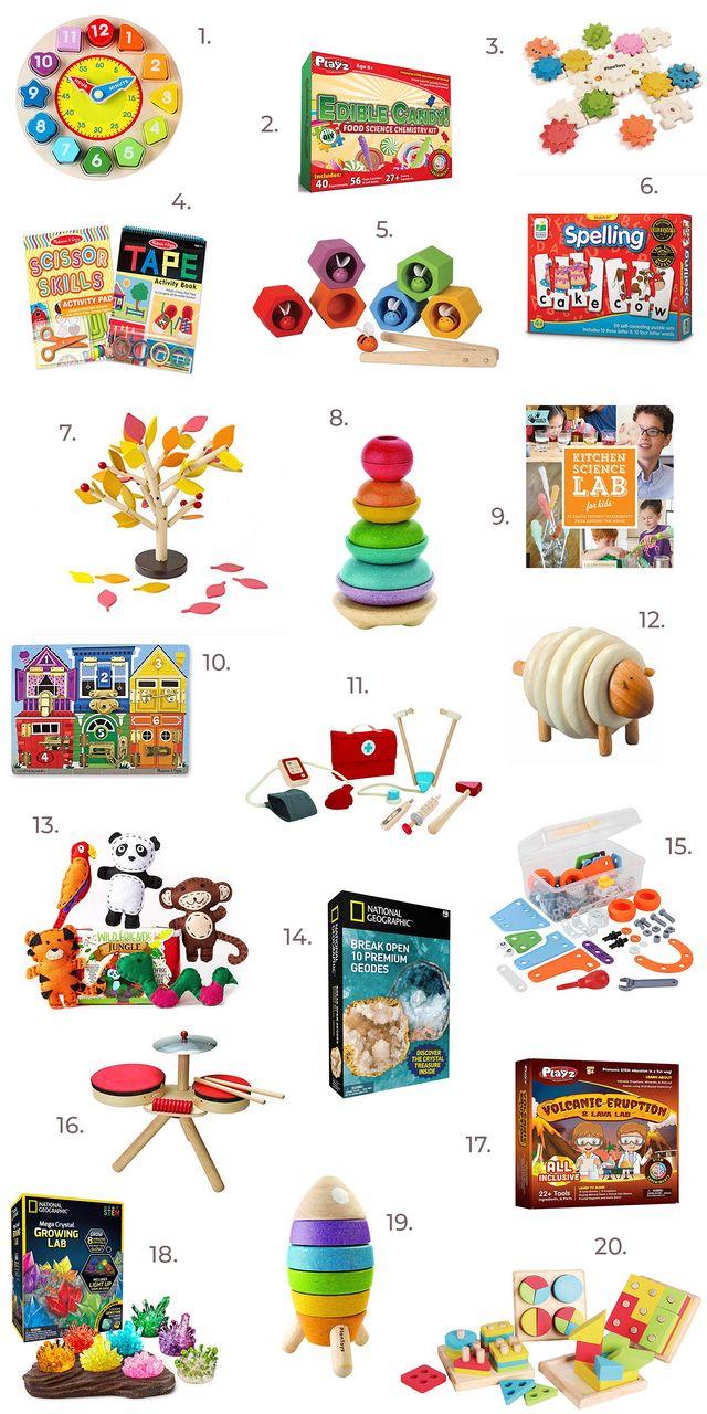 3c23f0dc52263 Educational Kids Toys On Amazon | A Beautiful Mess | Bloglovin'