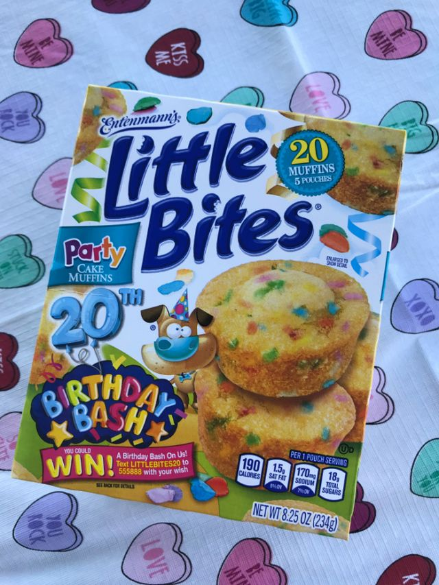 To Celebrate And Really Ring In Its Big 2 0 Everyones Favorite Mini Muffin Brand Is Running The EntenmannsR Little BitesR 20th Birthday Bash Sweepstakes