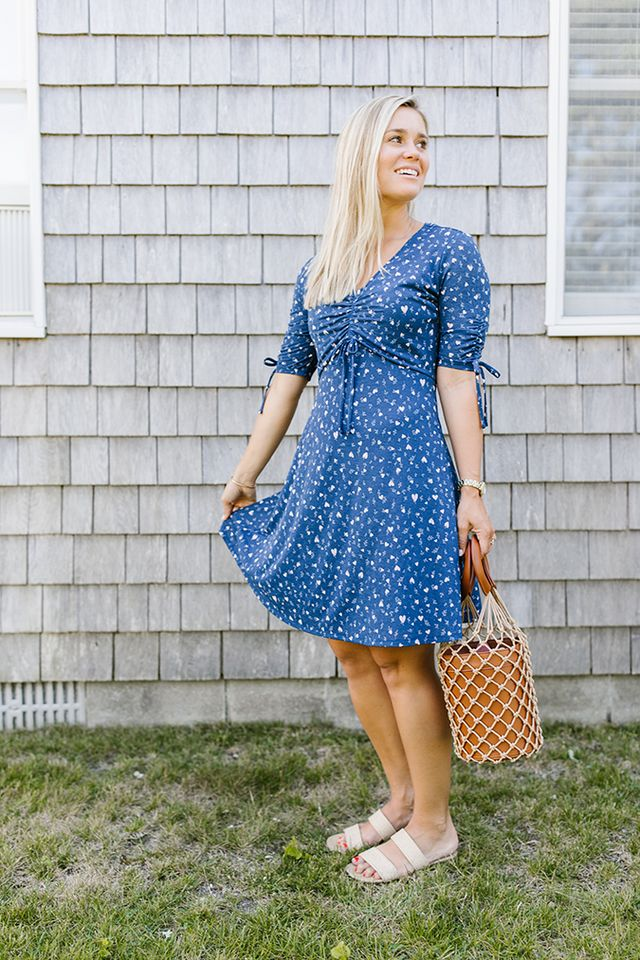 b0fdcee111e22 LC Lauren Conrad Print Fit & Flare Dress, $28. There are few summer staples  I love more than an easy sundress, and this LC Lauren Conrad one fits the  bill!