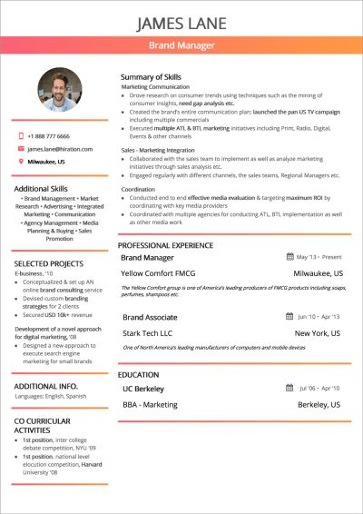 How To Craft The Perfect Web Developer Résumé | Smashing