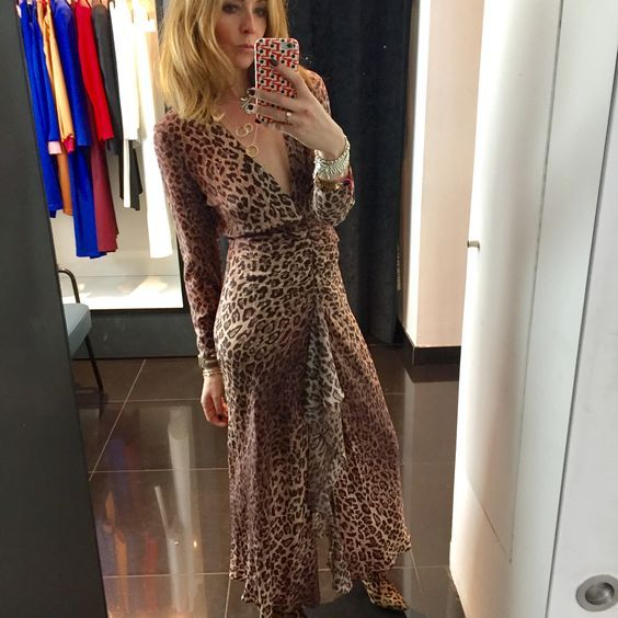 9aa38104bfb If the dress is a tad too much (although how there can ever be too much  leopard