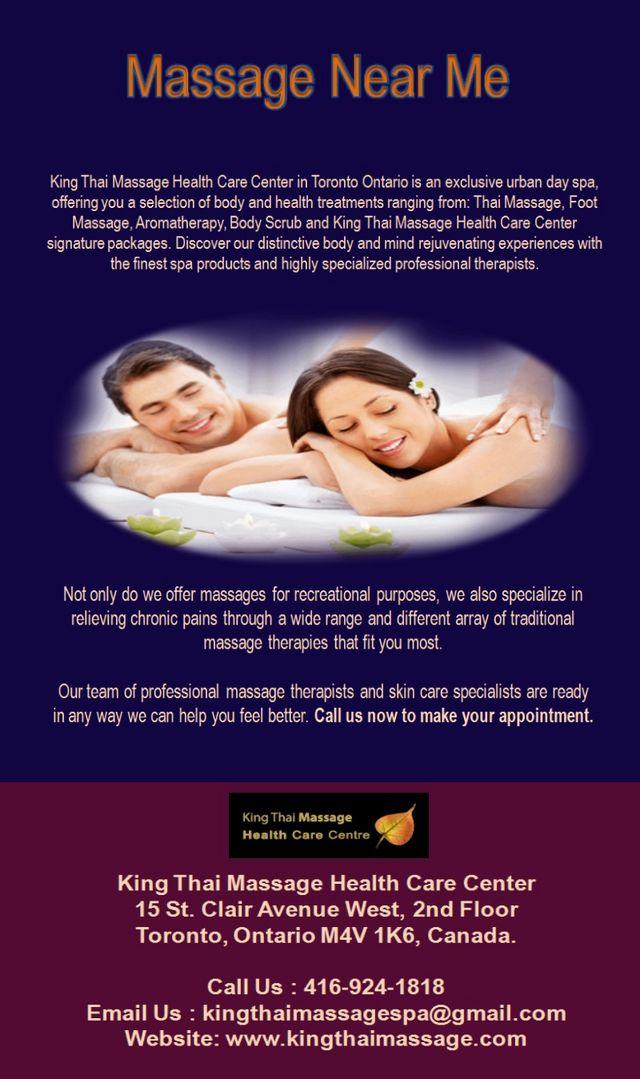 Massage Near Me - Find Best Massage Services in Toronto ...