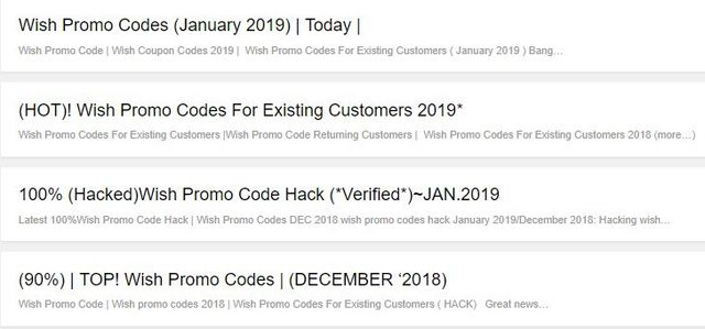 Affordable Wish Promo Codes 2019 | Posts by Saurabh Banyal