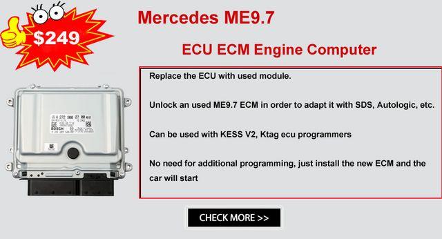 Mercedes Benz ME9 7 ECU ECM Engine Computer Mercedes Benz ME9 7 ME