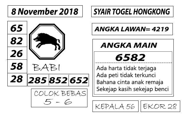 Bocoran Togel Hongkong 8 November 2018 | Posts by official