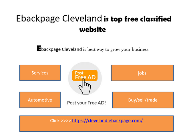 Top free classified site Cleveland | Top directory site in