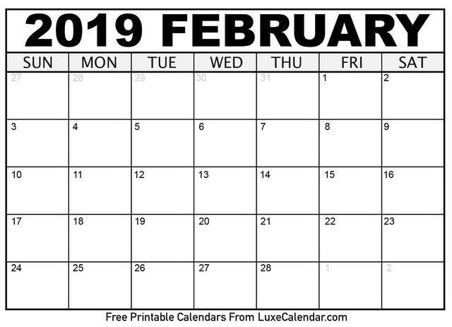 February Calendar 2019.7 Recommended Tools To Build 2019 February Calendar Posts By Erick