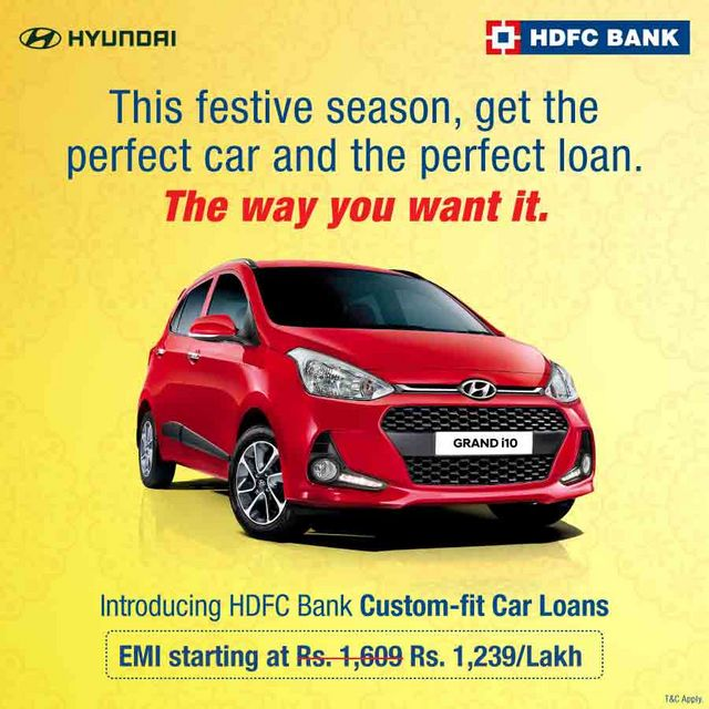 Get Home Your Dream Car This Festive Season With Hdfc Bank S Custom