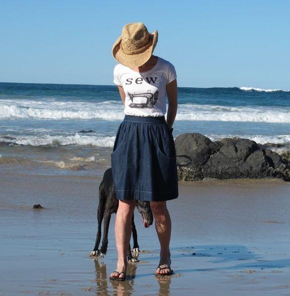 f007aa61cfa04 A Beach Brumby Skirt   Sew Busy Lizzy   Bloglovin